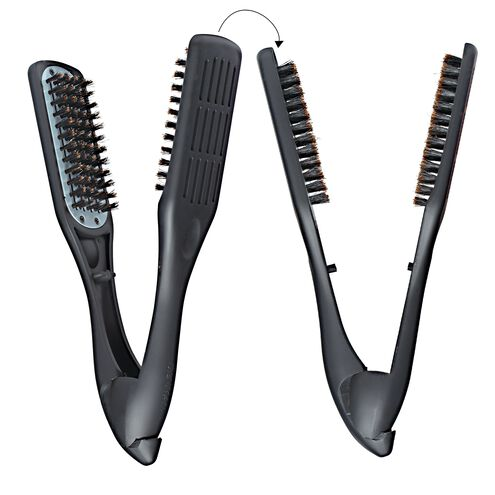 Thermo Ceramic Straightening Boar Bristle Brush