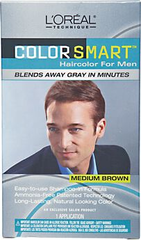 Colorsmart Haircolor for Men Medium Brown