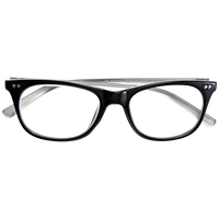 Black Pearlized 2.75 Reading Glasses