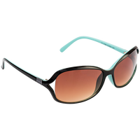 Plastic Two Tone Blue Fashion Sunglasses