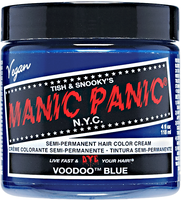 Voodoo Blue Semi Permanent Cream Hair Color