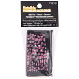 Prints Bobby Pins Black and Pink 10 Count