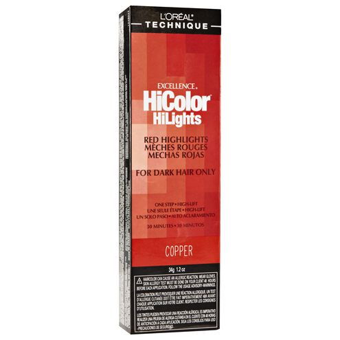 HiColor Red HiLights Copper Permanent Creme Hair Color