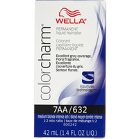 Medium Ash Blonde Color Charm Liquid Permanent Hair Color