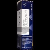 Midnight Blue Black Semi Permanent Hair Color