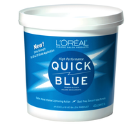 Quick High Performance Blue Powder Lightener
