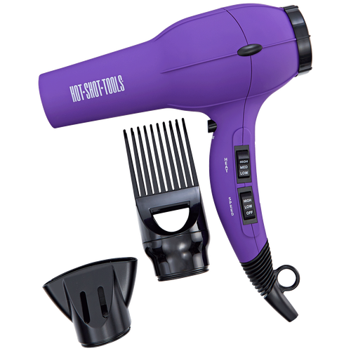 Helen Of Troy Hot Shot Tools Purple Turbo Hair Dryer