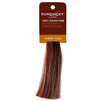 Clip In Cherry Cola Human Hair Swatch