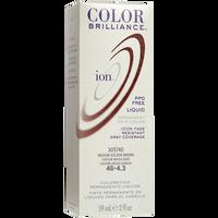 4G Medium Golden Brown Permanent Liquid Hair Color
