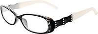 Black & White Two Toned Reading Glasses