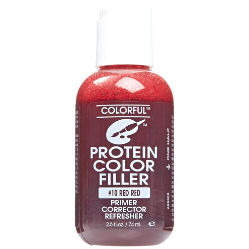 #10 Red Red Colorful Protein Filler