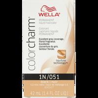 Black Color Charm Liquid Permanent Hair Color