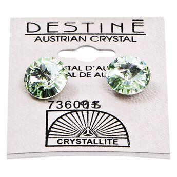 Destine Chrysolite Rivoli Earrings