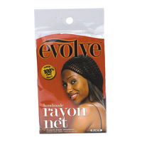 Rayon Hair Net Black