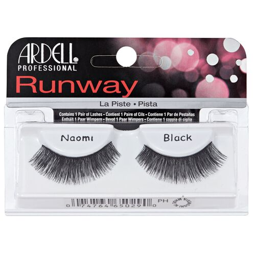 Runway Lashes Naomi Black