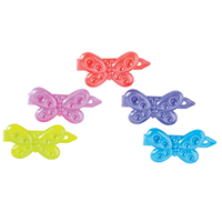 Assorted Butterfly Barrettes