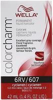 Liquid Permanent Hair Color 607/6RV Cyclamen