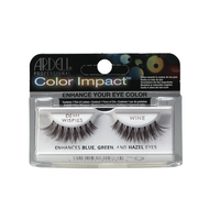 Color Impact Demi Whispie Wine Lashes