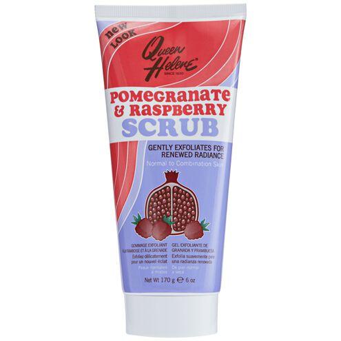 Pomegranate and Raspberry Scrub