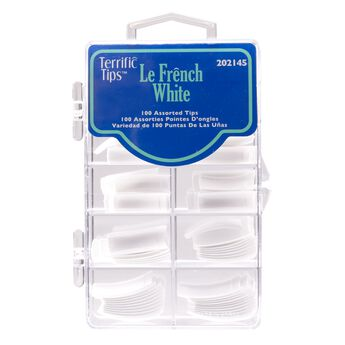 Le French White Nail Tips