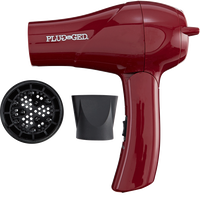 Dual Voltage Marsala Travel Hair Dryer