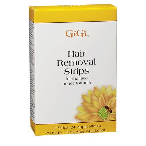 Facial Hair Removal Strips