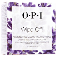 Wipe Off Lacquer Nail Wipes