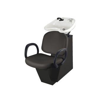 Star Backwash Unit Black Chair with Black Bowl
