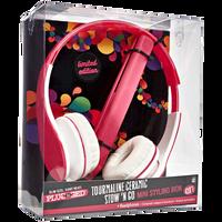 Traveling Headphones Flat Iron Gift Set