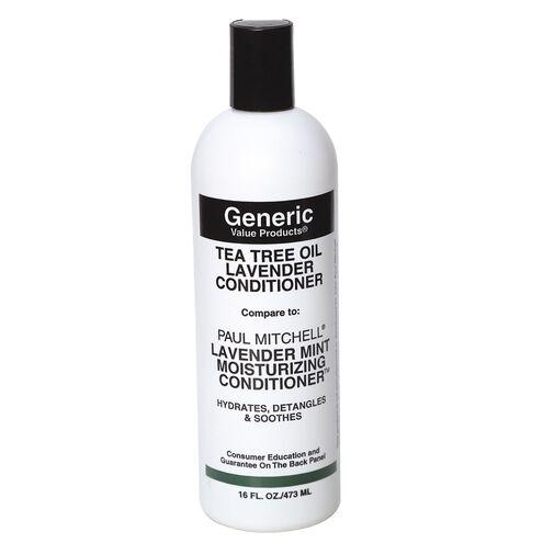 Tea Tree Oil Lavender Conditioner compare to Paul Mitchell Lavender Mint Moisturizing Conditioner