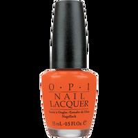 Atomic Orange Nail Lacquer