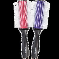 Silicone 9-Row Styling Brush
