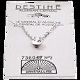 Destine Crystal Diamond Cut Necklace 6mm