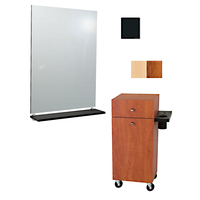 Montego Mobile Styling Vanity with Mirror