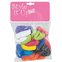 Small Terry Ponytail Holders