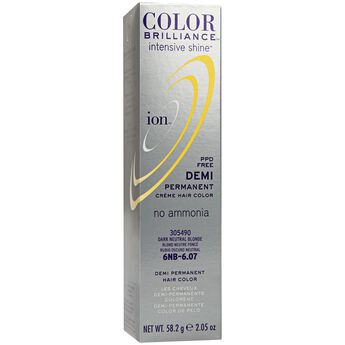 Intensive Shine 6NB Dark Neutral Blonde Demi Permanent Creme Hair Color