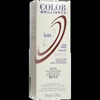 5G Light Golden Brown Permanent Liquid Hair Color