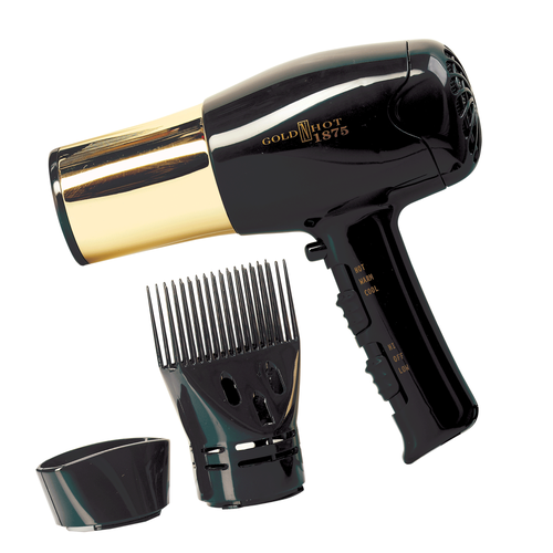 nullGold Barrel Hair Dryer
