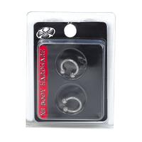 Stainless Steel 16G Circular Piercing