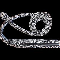 Zebra 1 Inch Deco Cord Flat Iron