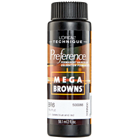 Mega Browns BR6 Truffle Permanent Hair Color