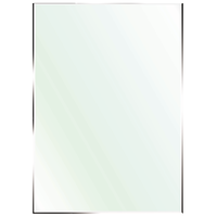 Polished Edge Small Mirror