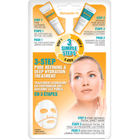 3 Step Pore Refining Hydration Treatment