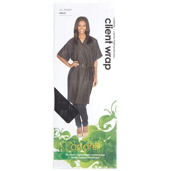 Client Gown Wrap Black