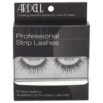 Professional Strip Lashes Gisele Black 6 Pack