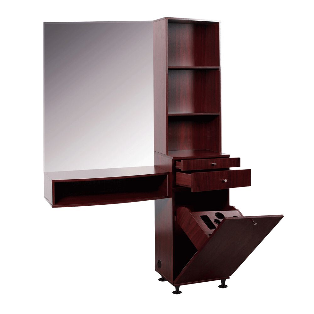 Retail tower styling station for Used salon stations