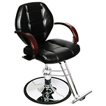 Macee Styling Black Chair with Base