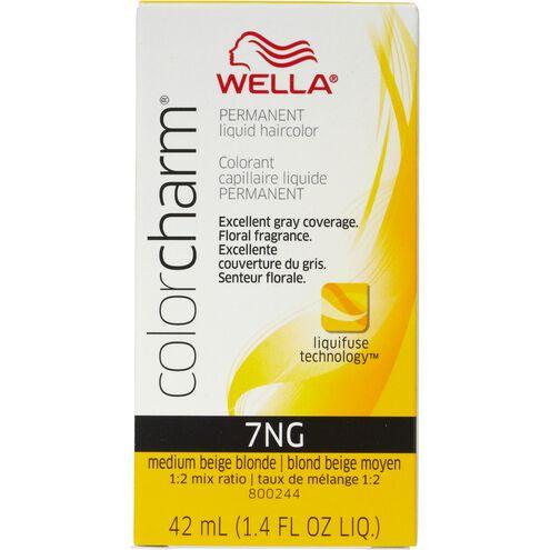 Medium Beige Blonde Color Charm Liquid Permanent Hair Color