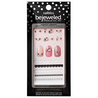 She's Gotta Have It Bejeweled Nail Art