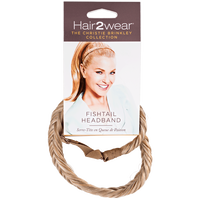 Medium Golden Blonde Fishtail Headband